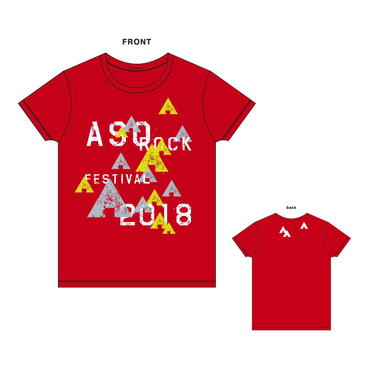 テントTシャツ(レッド)
