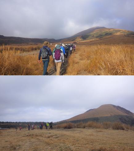 南阿蘇山開きトレッキングツアー2018